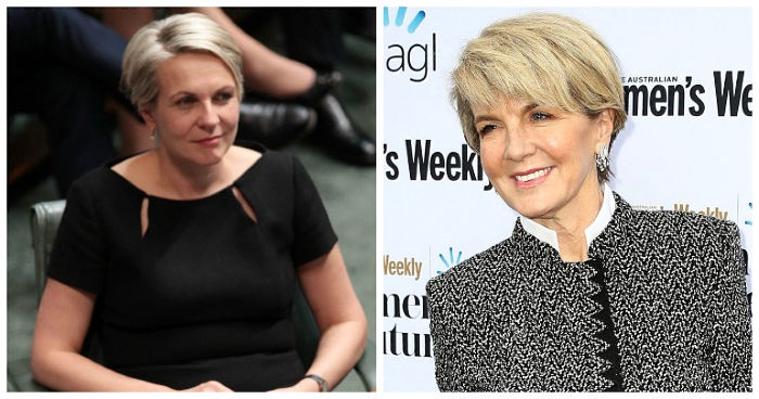 Julie Bishop was managing partner of a law firm before running for parliament. Source: Getty.