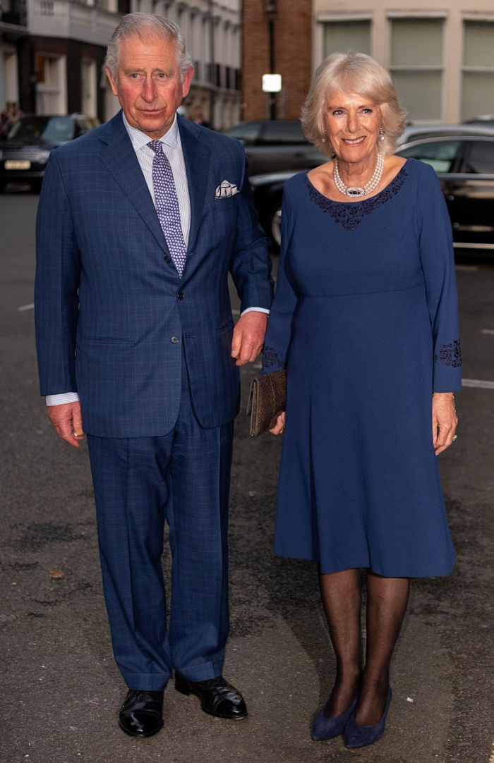 Prince Charles and Camilla looked happy and at ease as they attended an event to celebrate the Prince of Wales' birthday.