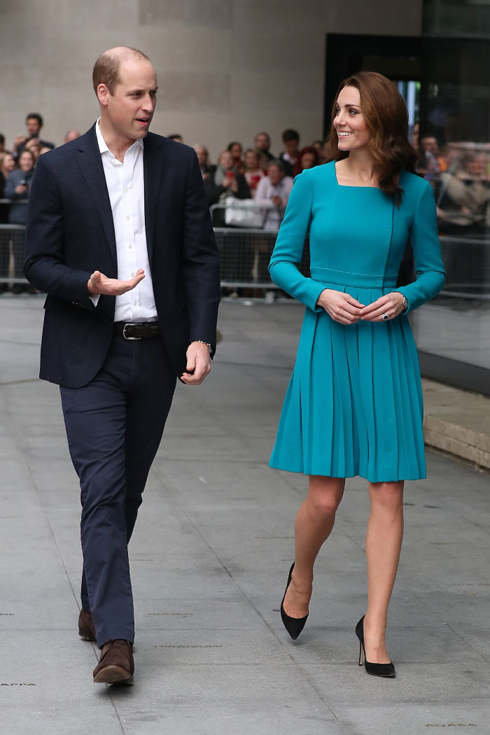 The Duke and Duchess of Cambridge were invited to try out a new internet safety app. Source: Getty.
