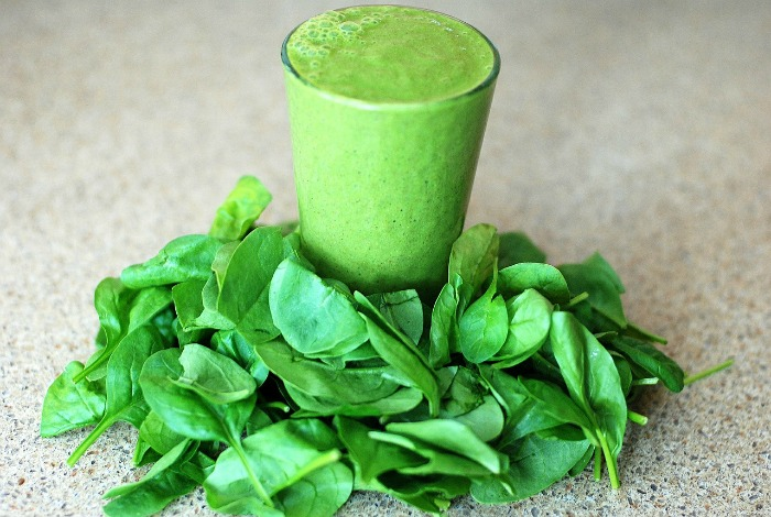 Vitamin K found in leafy greens can remove blood clotting medication from the system quicker.