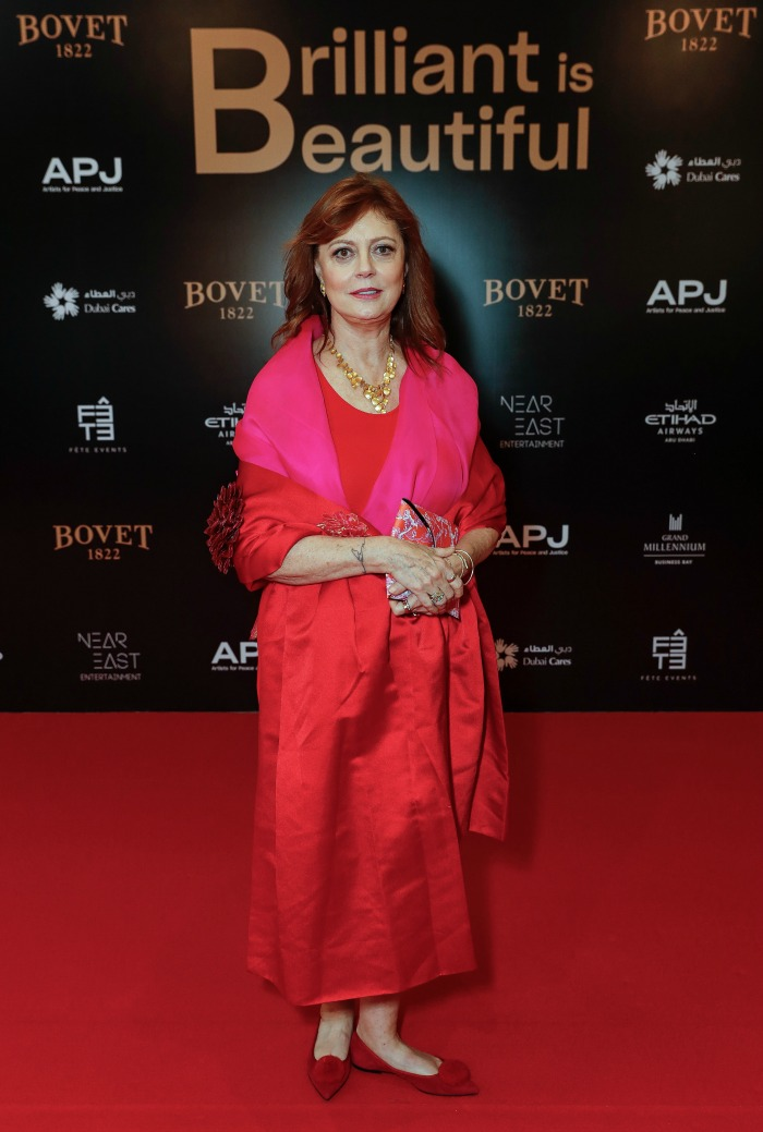 Susan Saraondon, who is the APJ Co-chair, also attended the lavish gala.
