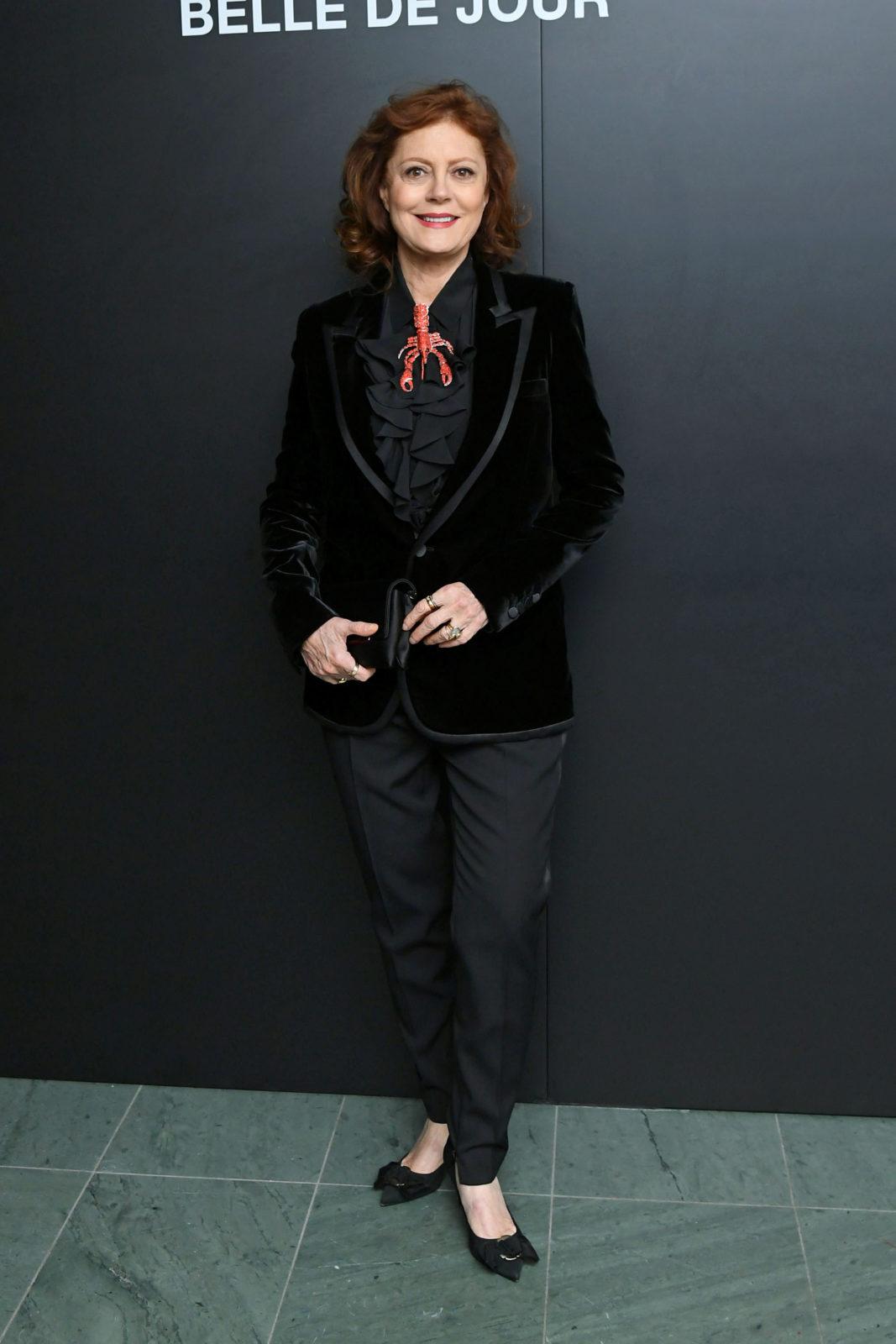 Susan Sarandon looked gorgeous as the recent Saint Laurent Presents 'Belle De Jour' 50th Anniversary Screening.