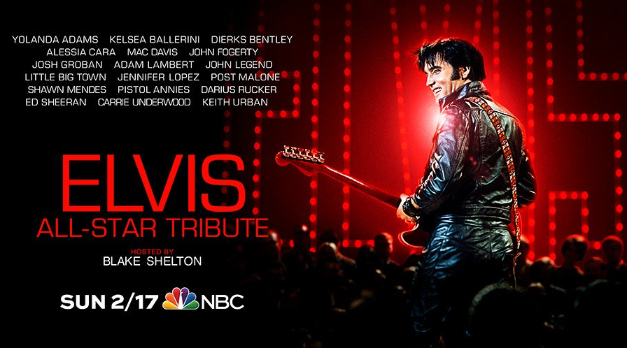 Huge stars will perform in the tribute concert. Source: elvisthemusic.com.