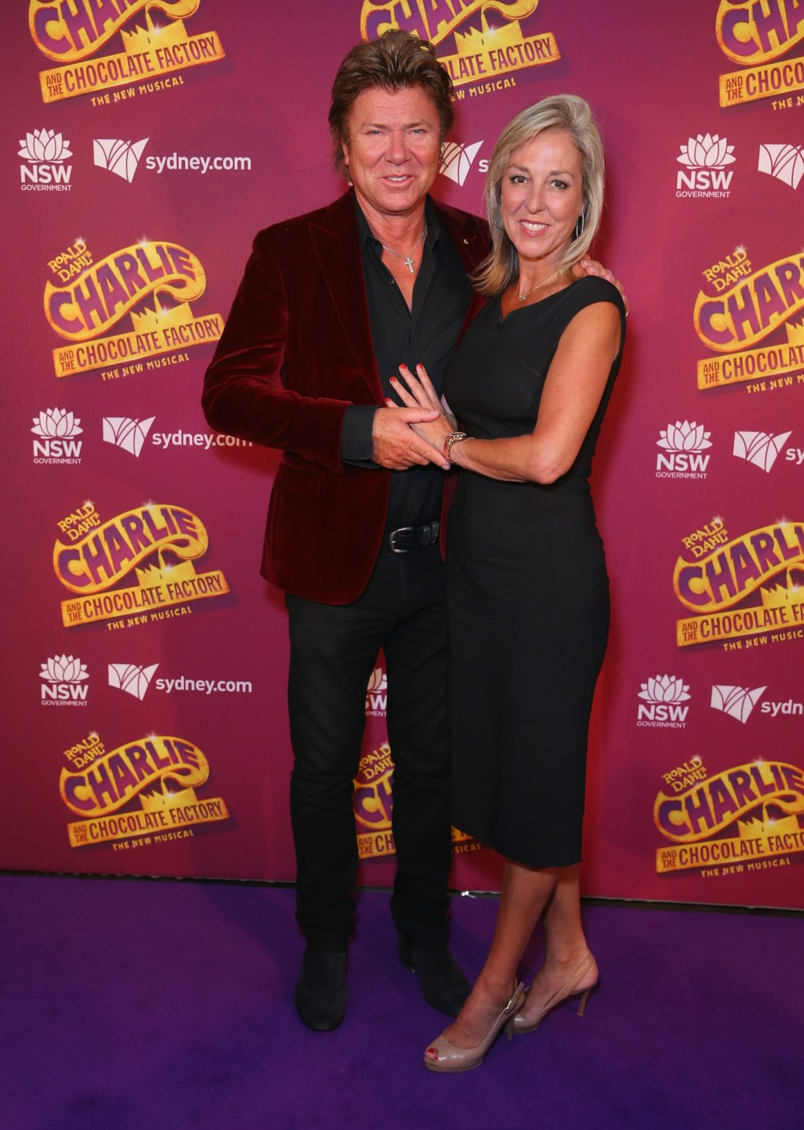 Virginia Burmeister stole the show at a star-studded event in Sydney, alongside Richard Wilkins. Source: Getty