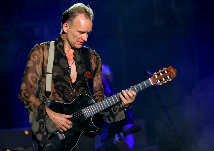 Sting's kids won't see the same fortune that he's grown himself when he's gone.