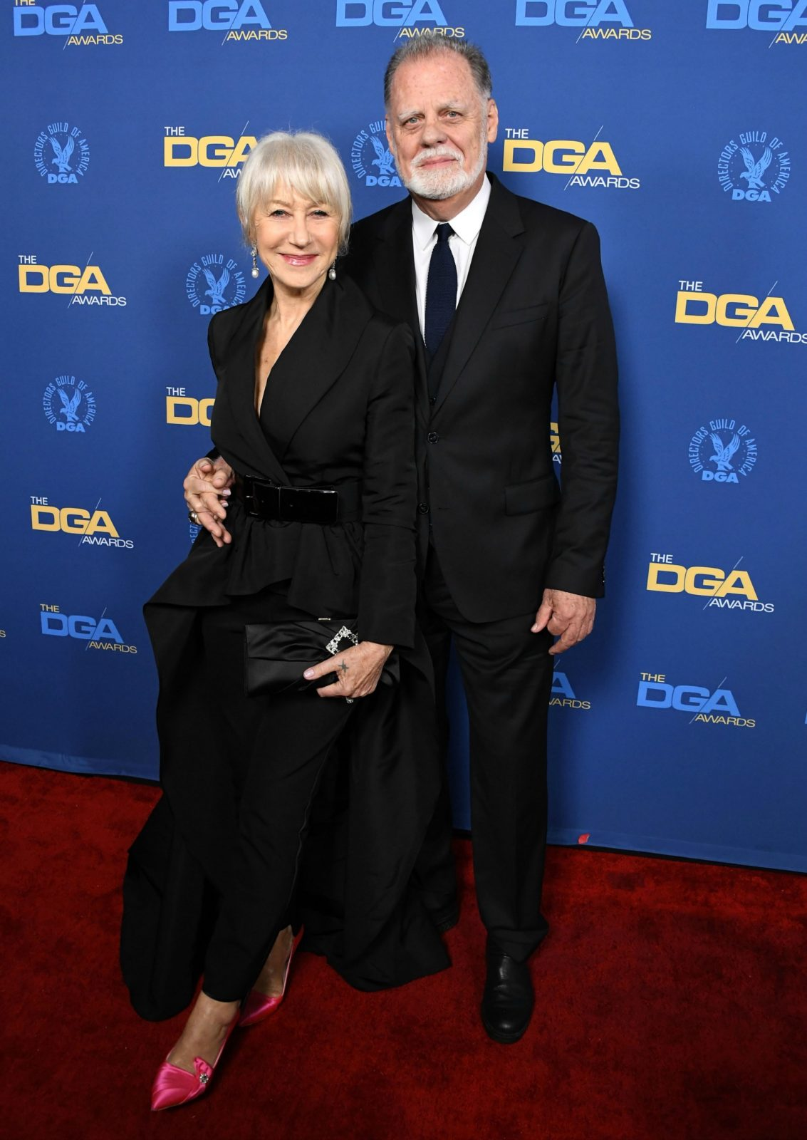 Helen and her husband Taylor Hackford were the ultimate couple at this year's event.