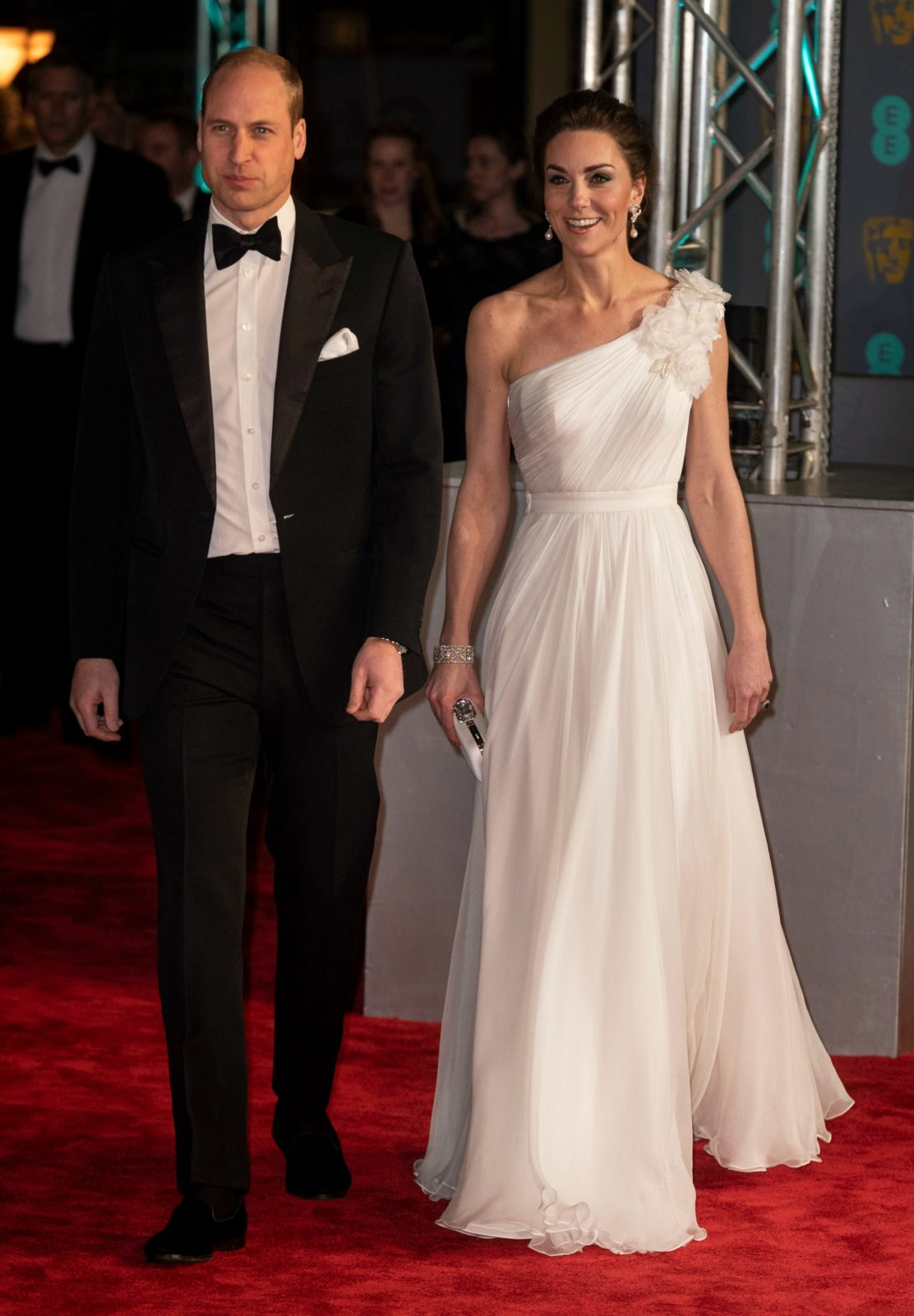 The Duke and Duchess of Cambridge arrived in style for theannual British Academy Film Awards in London on Sunday night. Source: Getty