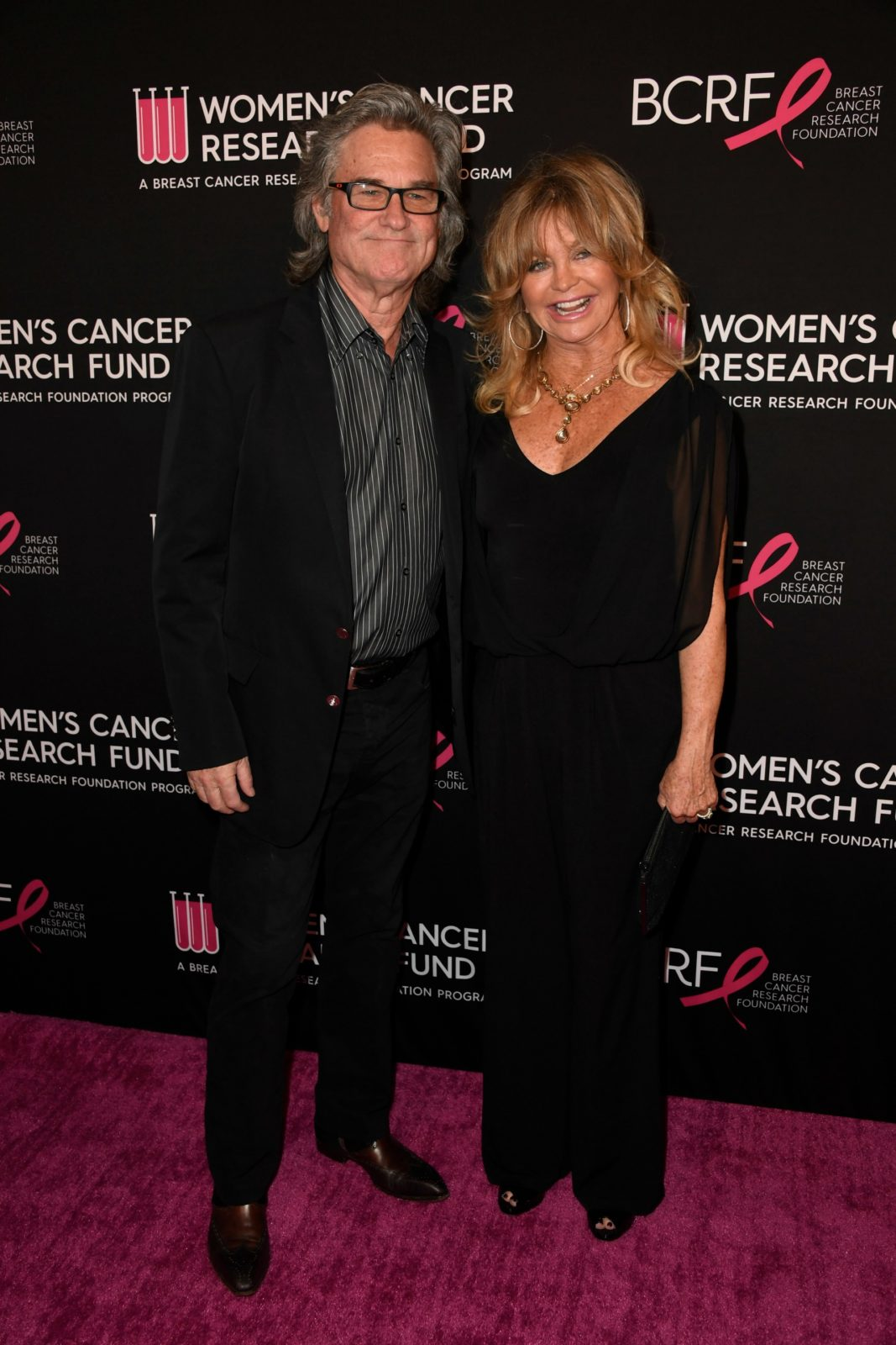 Goldie Hawn and Kurt Russell hit the red carpet for a charity event in California last week. Source: Getty