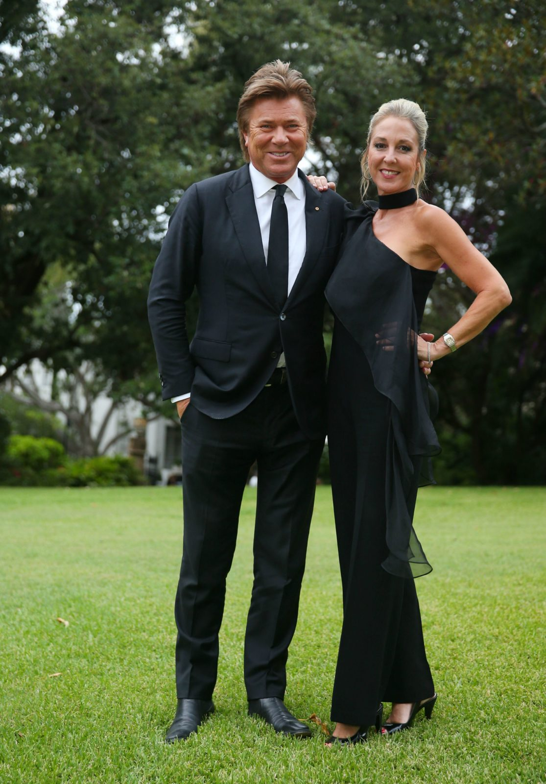 Richard and Virginia were special guests at this year's Silver Party in Sydney.