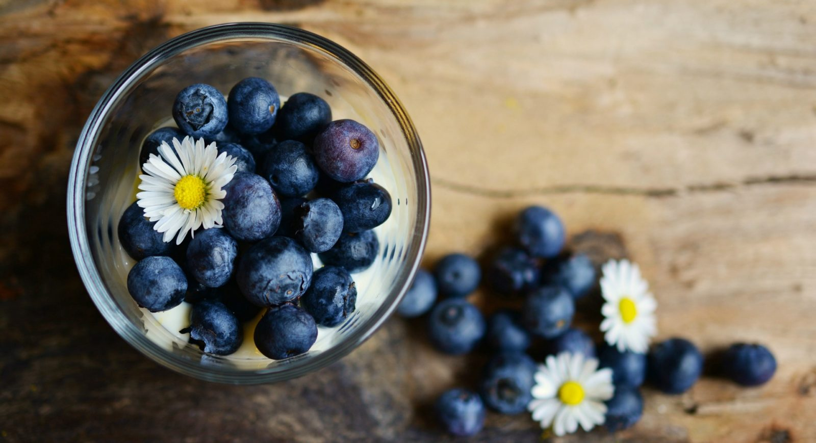 Blueberries have anti-inflammatory properties and are rich is polyphenols.