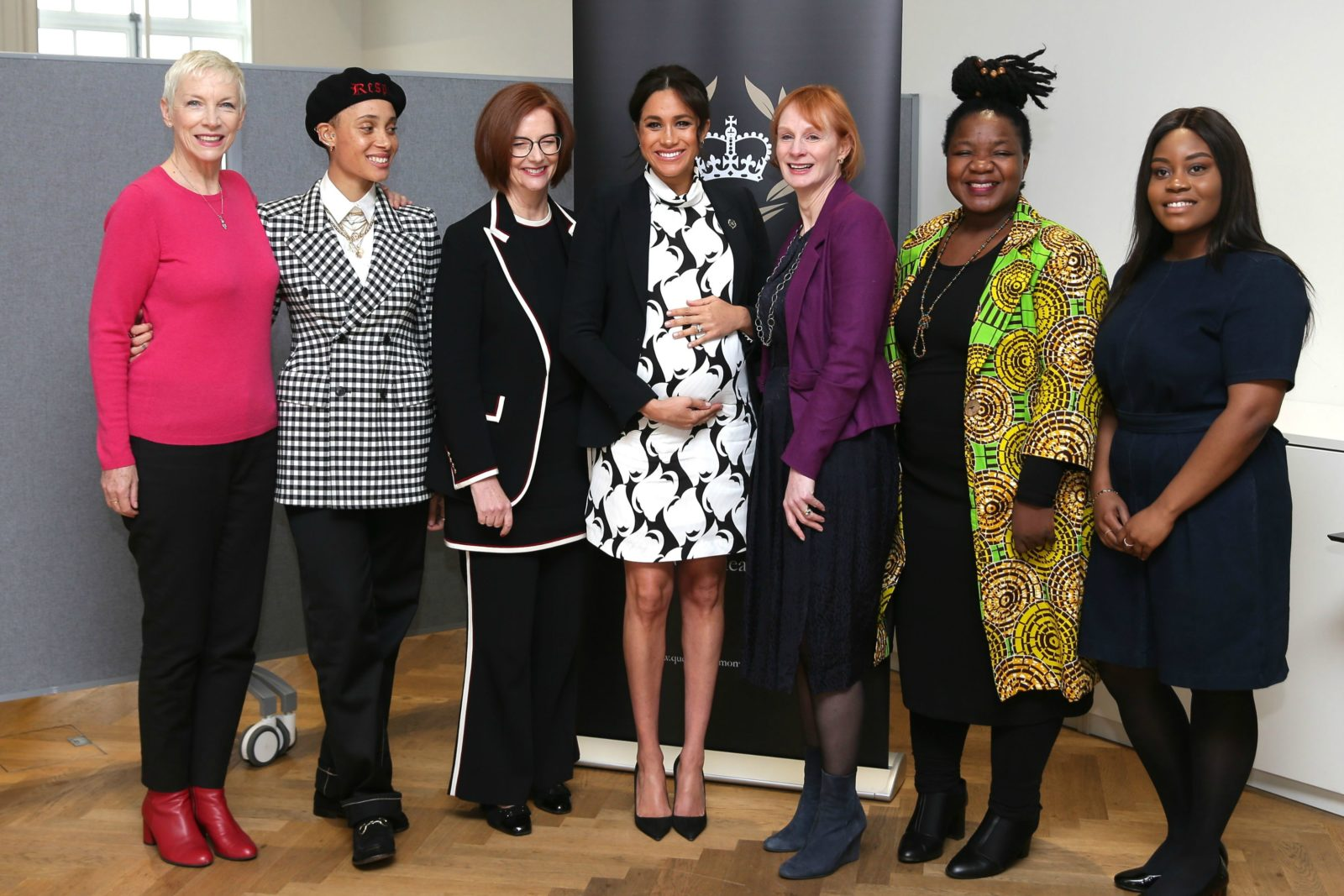Meghan joined a star-studded panel. Source: Getty.