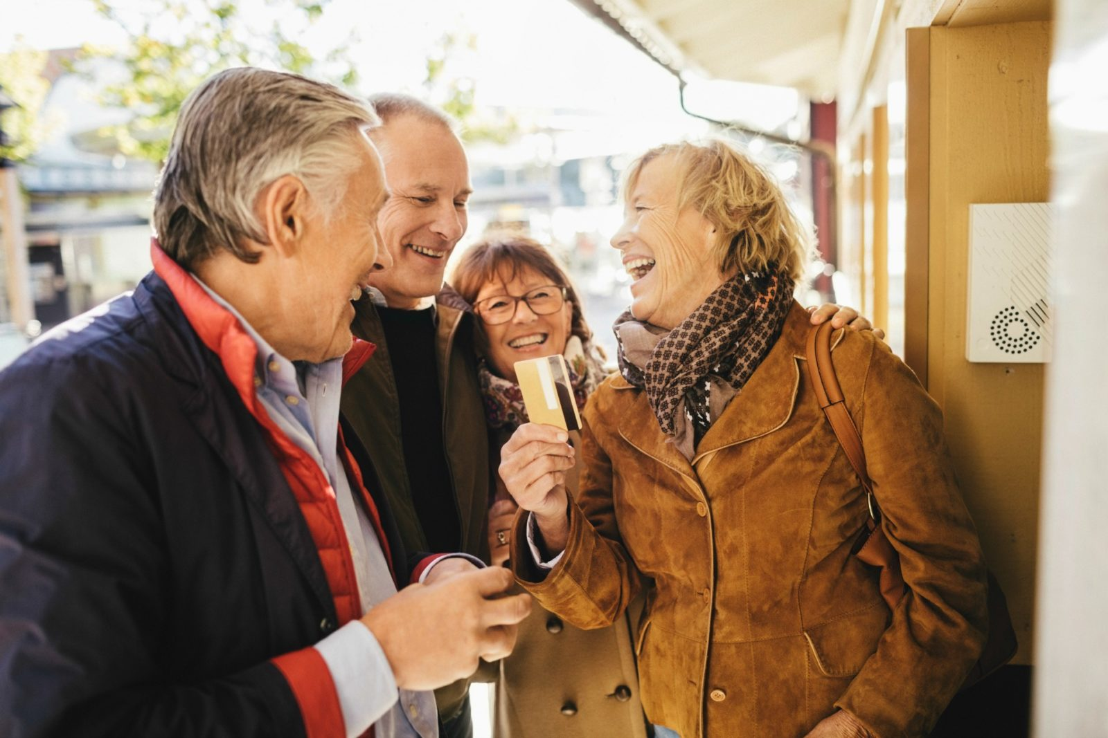 Staying social in older life can give people a purpose.