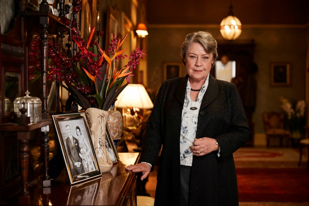 Noni Hazlehurst plays Elizabeth on the show. Source: Foxtel (supplied).