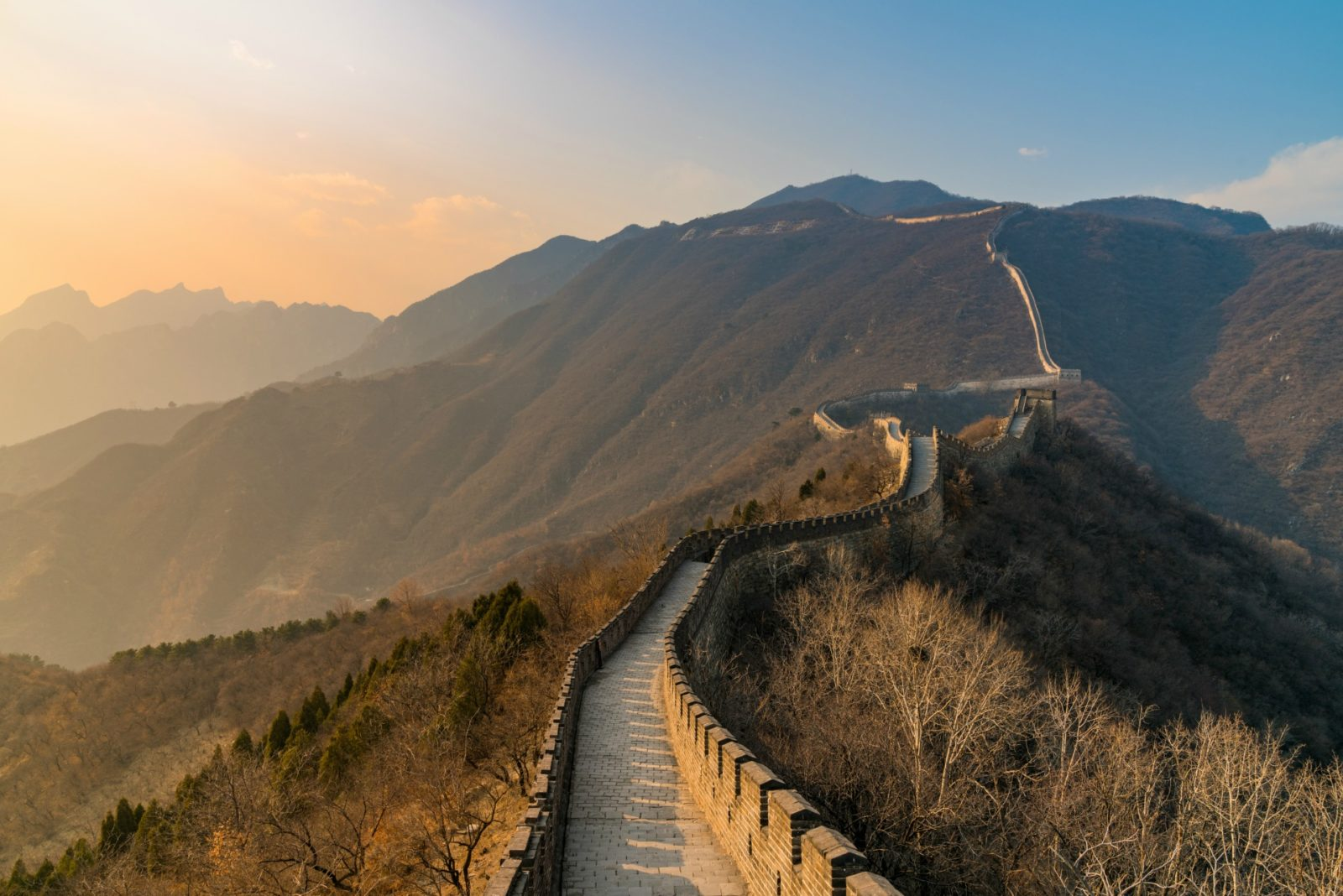 Great Wall of China. Source: Getty