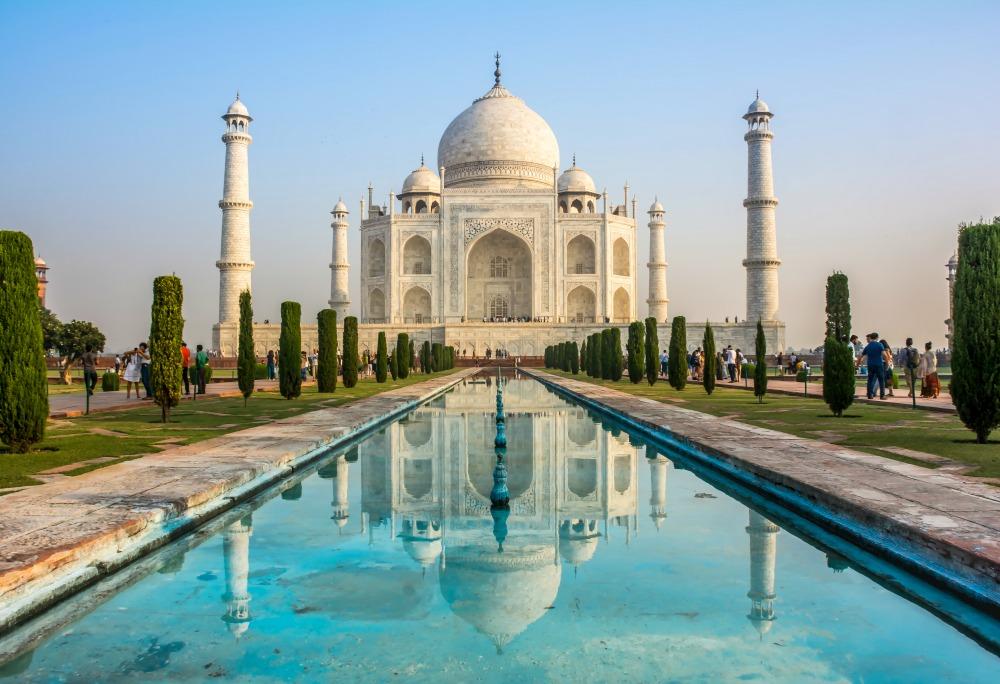 Taj Mahal. Source: Getty