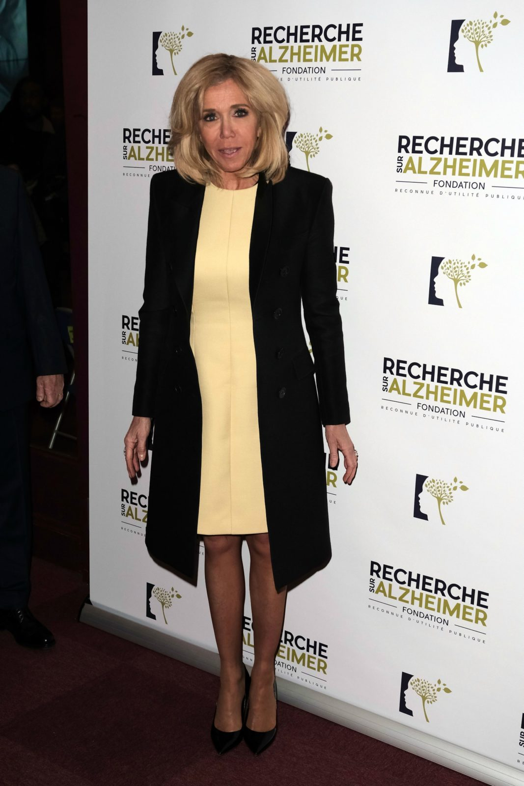 Brigitte Macron put her best style foot forward as she stepped out to attend the Charity Gala against Alzheimer's Disease in France earlier this month. Source: Getty