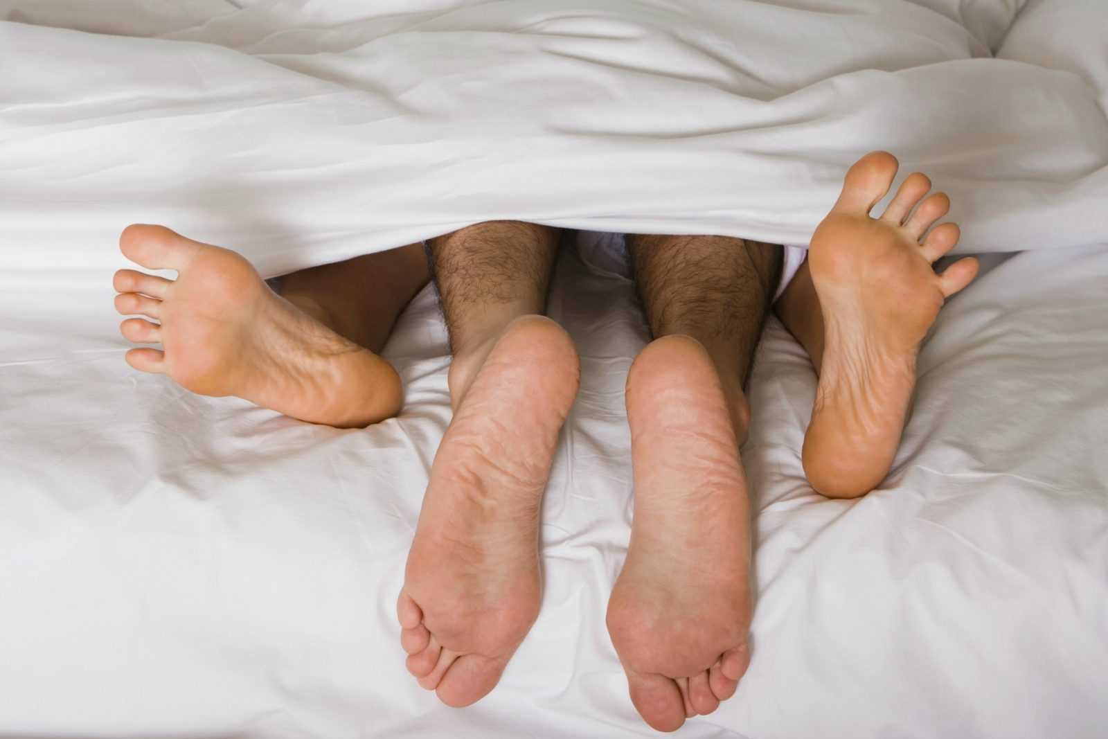 People should only be having as much sex as they and their partner is comfortable with.