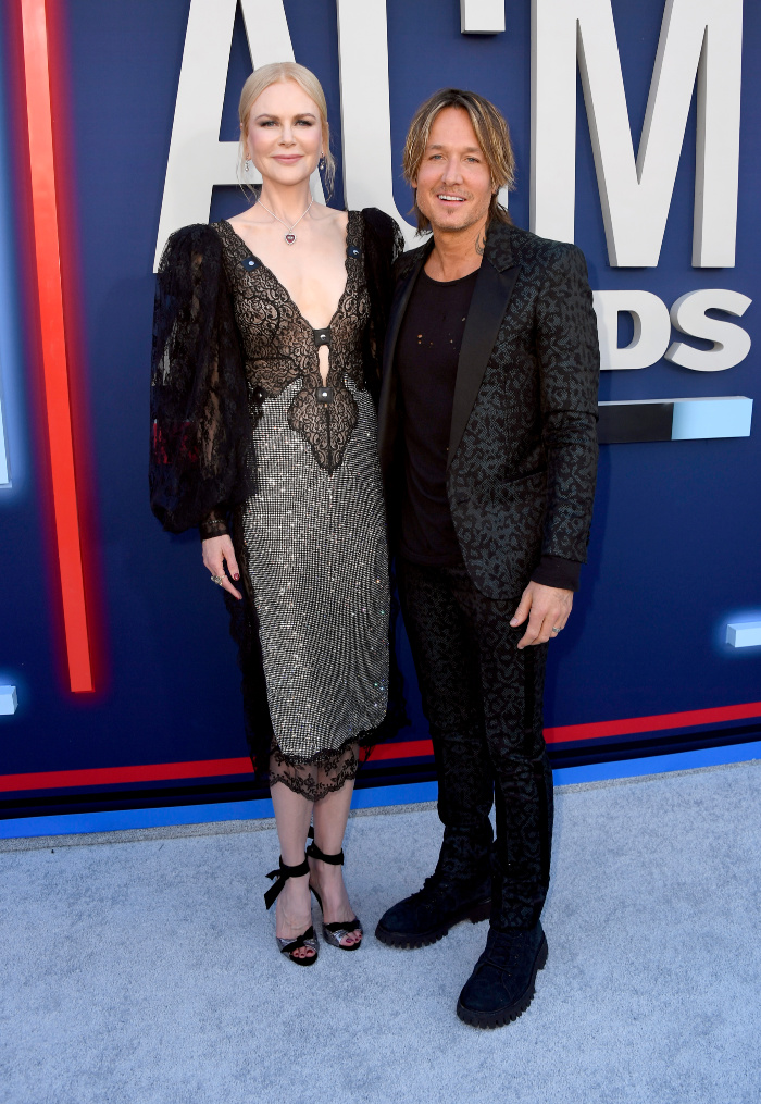 Nicole Kidman and Keith Urban looked picture perfect as they stepped out for the Country Music Awards in Las Vegas on Sunday.
