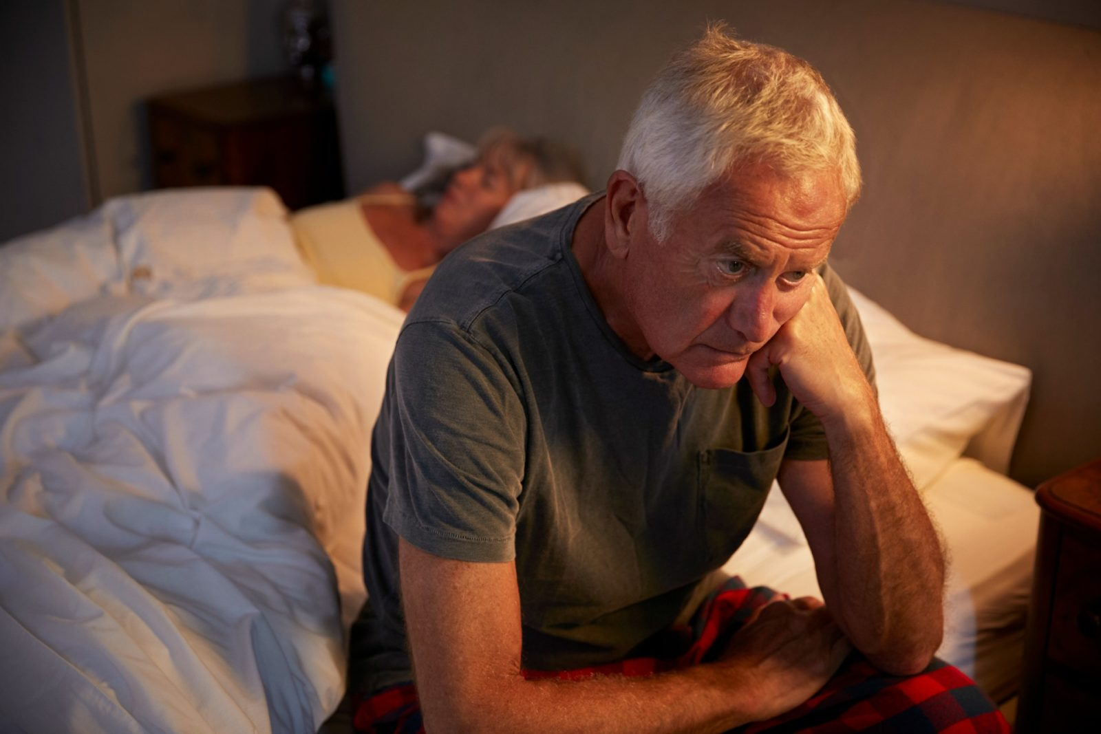 Many men develop depression as a result of erectile dysfunction.