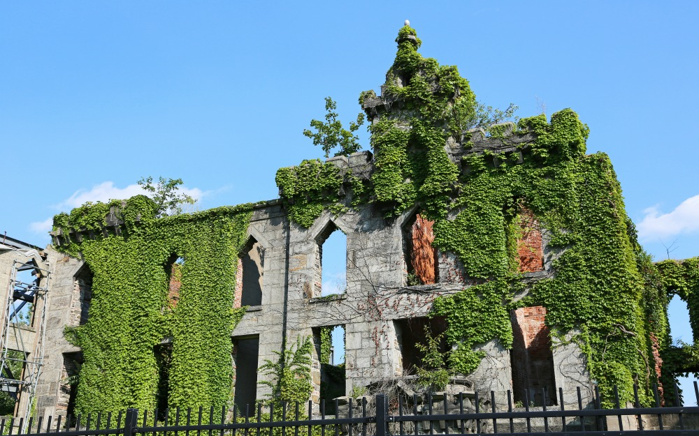 The Smallpox Hospital on Roosevelt Island. Source: Getty
