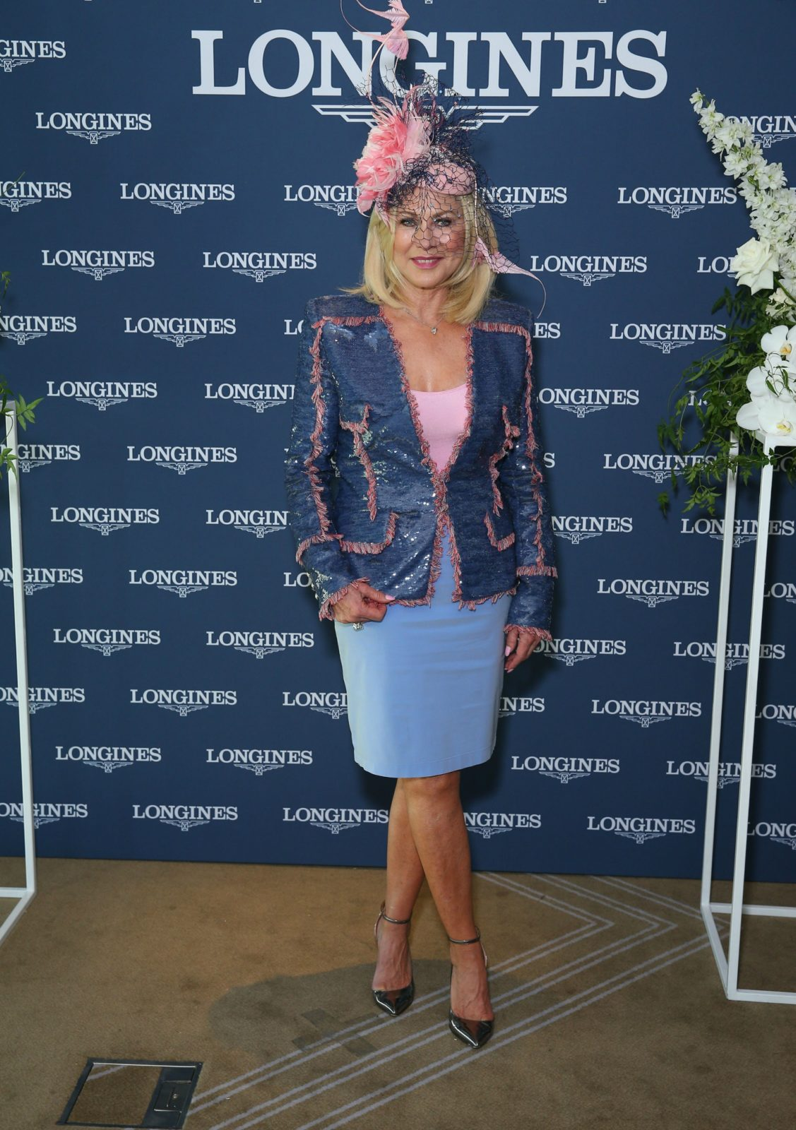 Kerri-Anne Kennerely was one of the special guests at Saturday's The Championships Day 2 at Royal Randwick Racecourse.
