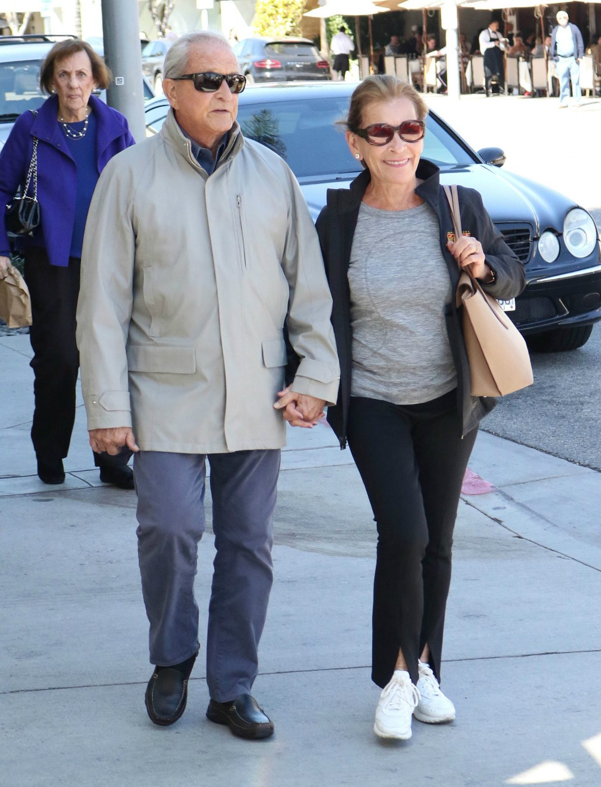 Judge Judy showed off her new hairstyle last month alongside her husband Jerry.
