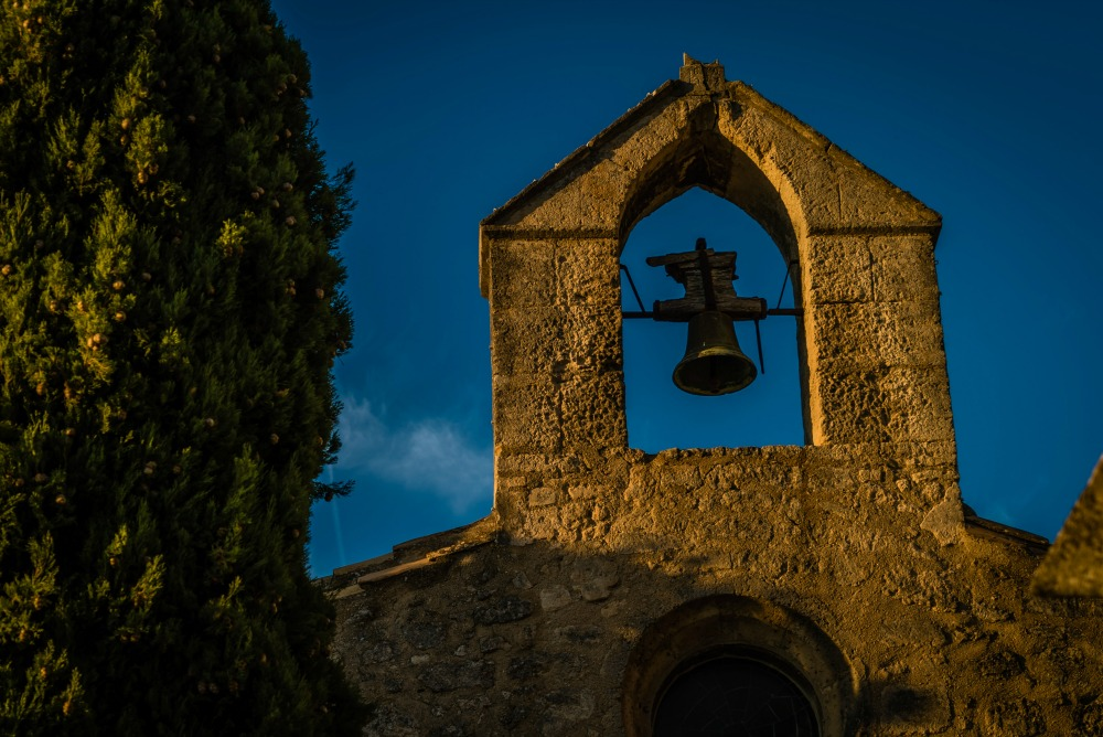Catholic church in Les Baux-de-Provence, France. Source: Getty