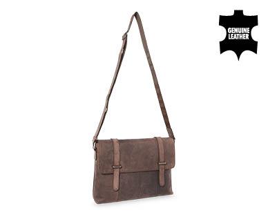 Leather Briefcase or Satchel. Source: Aldi