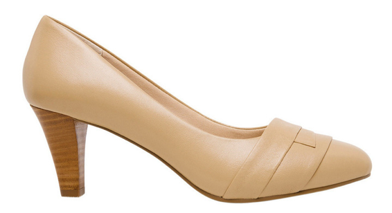 Nude never goes out of style, and neither will you with these Janina pumps.