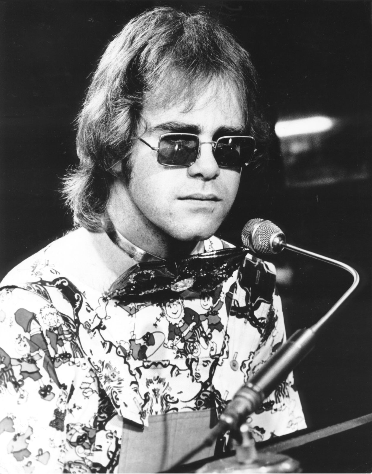 Elton John was engaged before he hit huge fame in 1970. Source: Getty.