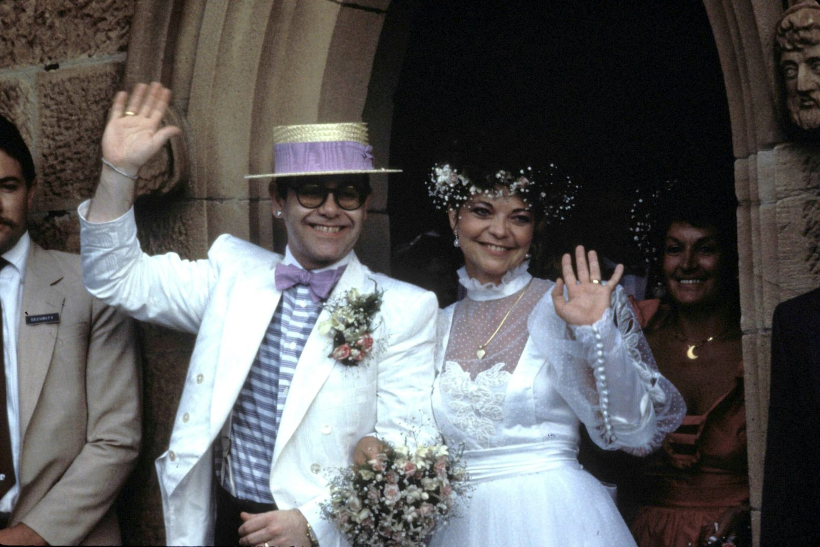 Elton John went on to marry Renate Blauel in the 80s. Source: Getty.