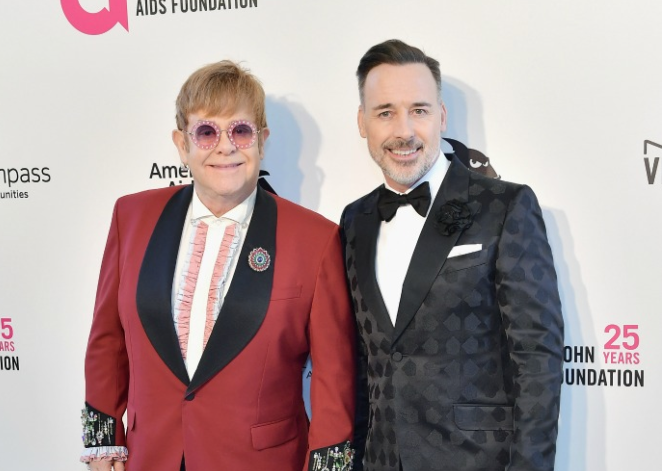 Elton John is now happily married to David Furnish. Source: Getty.