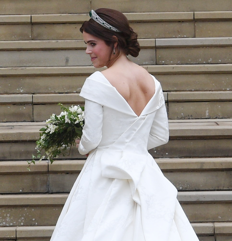 Princess Eugenie showed of her scoliosis surgery scar in a gorgeous backless gown at her wedding last year.