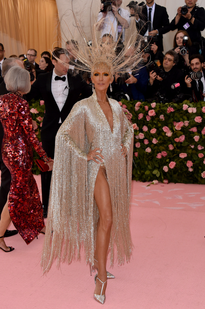 Celine Dion looked stunning as she attended the Met Gala Celebrating Camp.