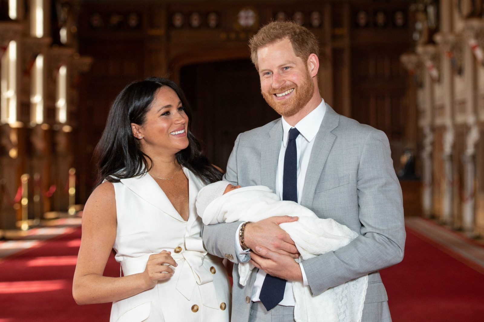Meghan and Prince Harry have named their son Archie Harrison Mountbatten-Windsor.