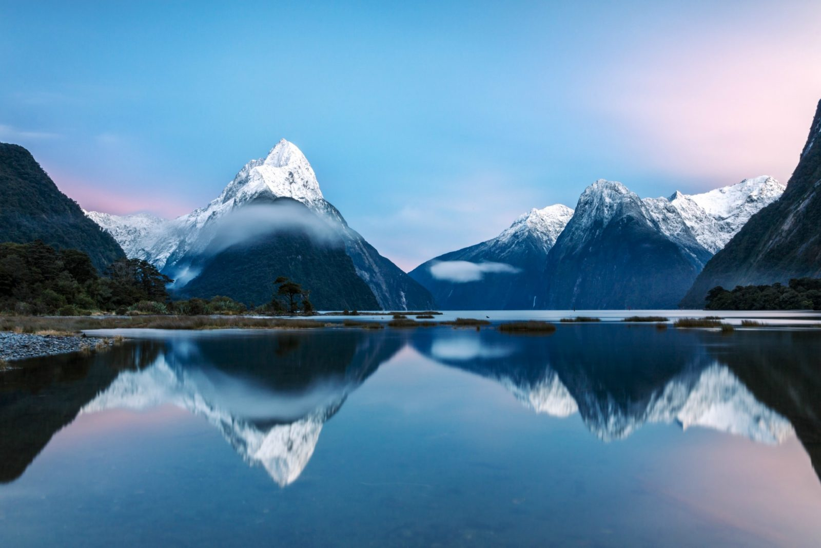 Fiordland National Park is one of the incredible destinations cruise-goers get to see. Source: Getty
