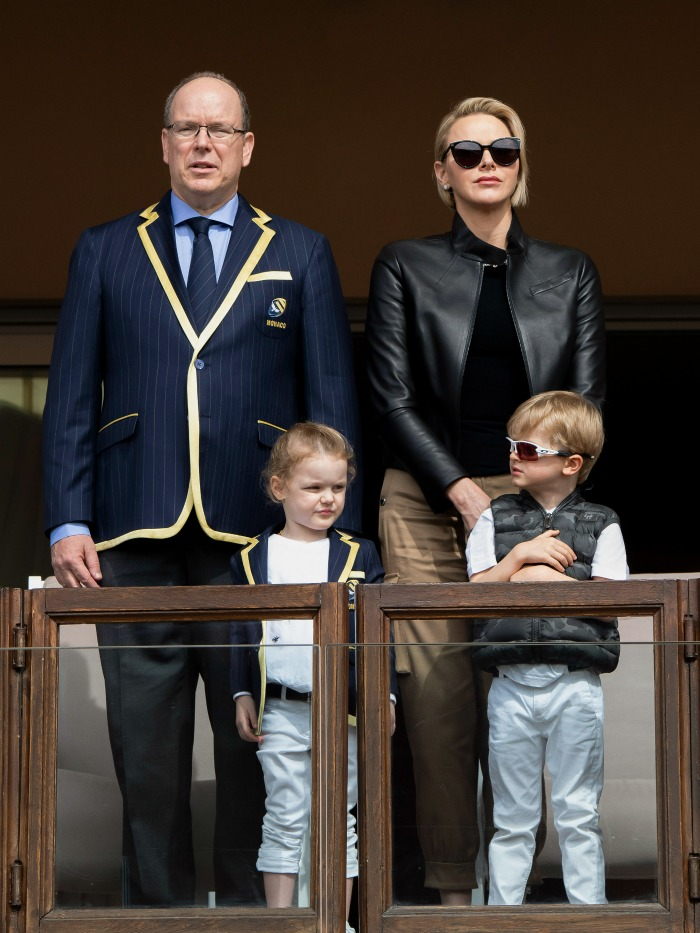 Princess Gabriella and Prince Jaques joined their parents Prince Albert and Princess Charlene on a family outing.