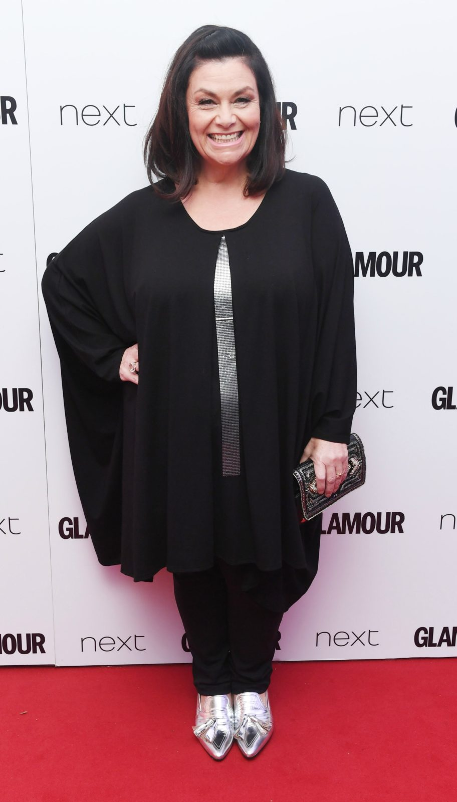 Dawn French was unrecognisable in 2017. Source: Getty.