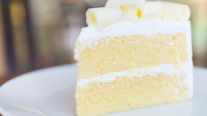 The three-ingredient white chocolate cake that the internet is going crazy for