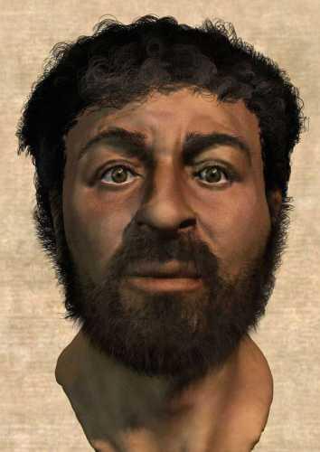 Richard Neave_ face of jesus