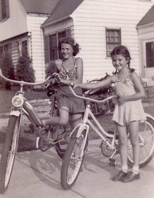 little-girls-riding-bikes_1960s