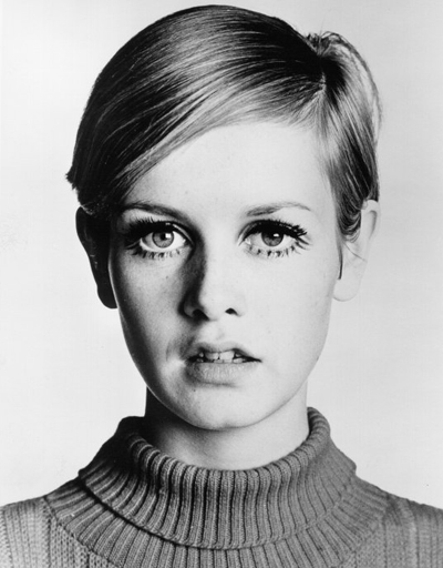 LOS ANGELES - 1967: English supermodel Twiggy poses for a portrait during the filming of 'Twiggy in Hollywood' directed by Bert Stern part of a three episode documentary series that aired in the spring of 1967 on ABC-TV, in Los Angeles, California. (Photo by Michael Ochs Archives/Getty Images)